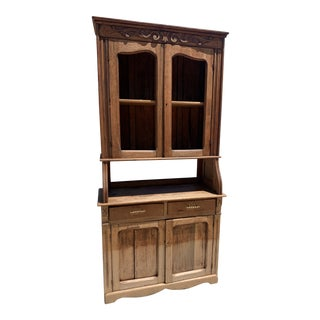 French Pine Pie Cabinet For Sale