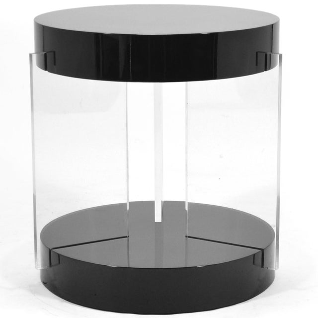 Vladimir Kagan Lucite Leg Side Table For Sale In Chicago - Image 6 of 6