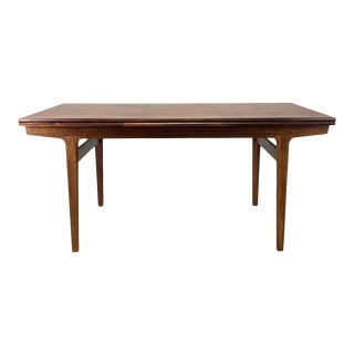Vintage Danish Rosewood Dining Table For Sale