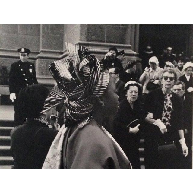"Christa Franke, 1962-63, Black and White Photo on Matte Paper, Entitled ""A Classic Elegance"", 8"" x 10 3/4"", Unframed..."