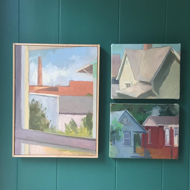This is an original painting, studied from observation in the Germantown neighborhood of Nashville, TN. It is part of a...