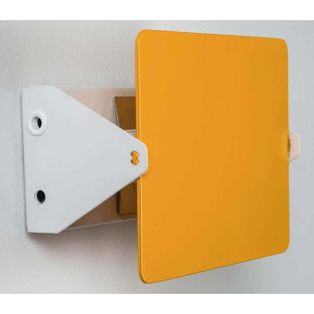 Not Yet Made - Made To Order Charlotte Perriand Yellow 'Applique á Volet Pivotant' Wall Lights - a Pair For Sale - Image 5 of 8