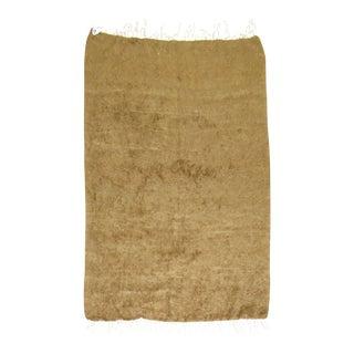 Vintage Turkish Mohair Sirt Rug , 4'4''x 6'1''