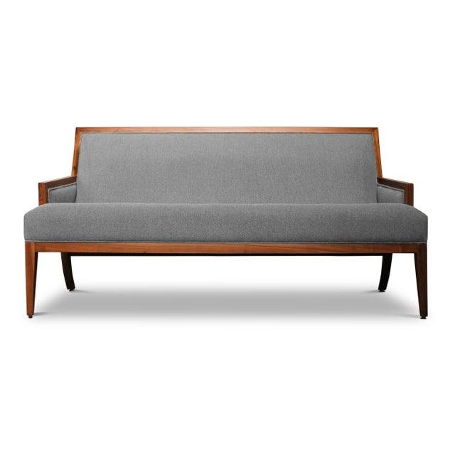 Contemporary Costantini Belgrano Contemporary Rosewood Settee, Custom For Sale - Image 3 of 3