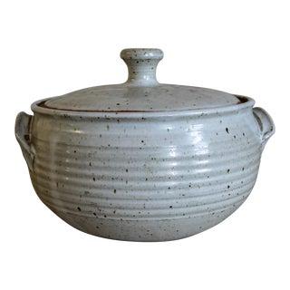 Ken Ferguson Studio Pottery Lidded Tureen or Casserole Dish For Sale