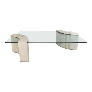 Vintage Casa Bique by Robert Marcius Tessellated Stone Coffee Table For Sale