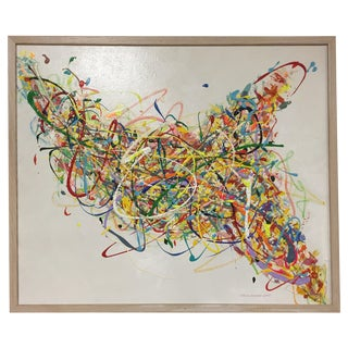 Steve Barylick Multicolor Abstract Painting For Sale