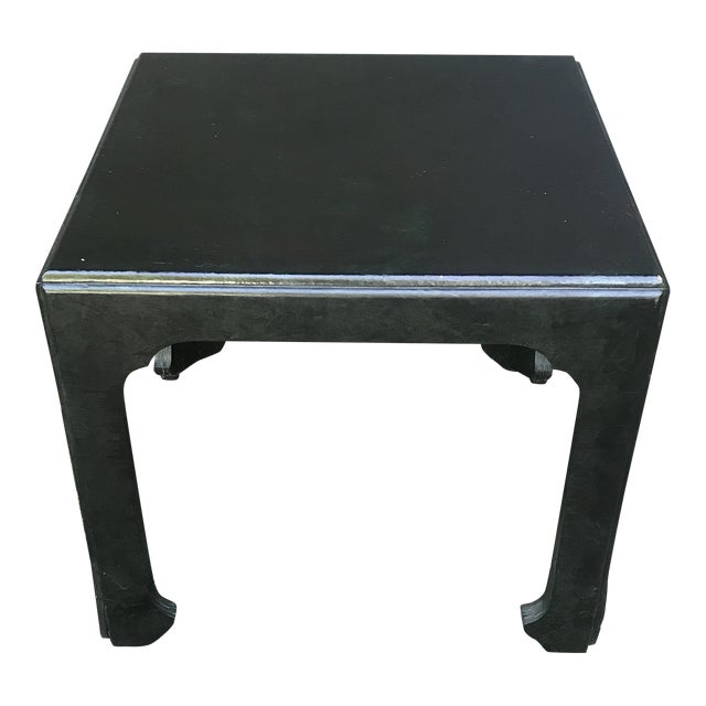 Chinoiserie Green Painted Accent Table by Baker Furniture For Sale
