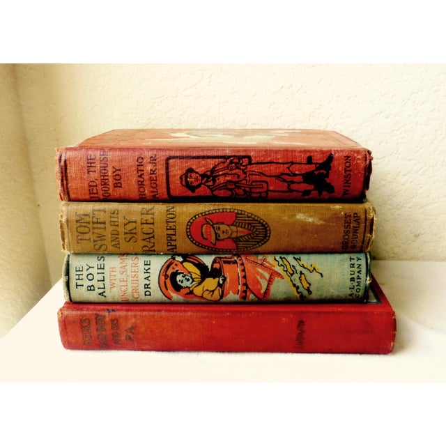 Collection of Antique Boys' Books - Set of 4 - Image 4 of 10