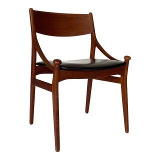 Vestervig Eriksen 1960s Danish Modern Desk Chair For Sale