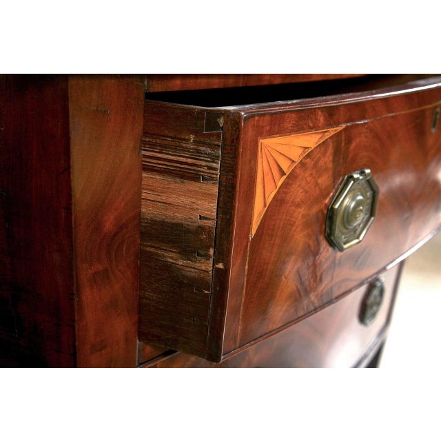 English Georgian Style Mahogany Sideboard - Image 9 of 9
