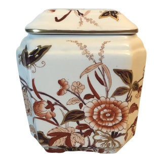Mason's Ironstone Lidded Bowl For Sale