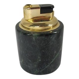 Green Marble Lighter For Sale