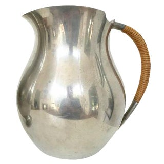 Just Andersen Signed Pewter Pitcher For Sale