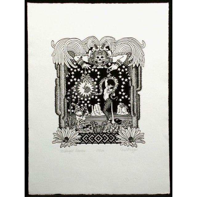 """Contemporary Paul Briggs"""" Midnight Dancers"""" Signed Numbered Etching For Sale In Denver - Image 6 of 6"""