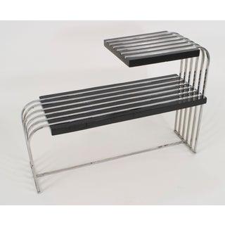 American Art Moderne End Table