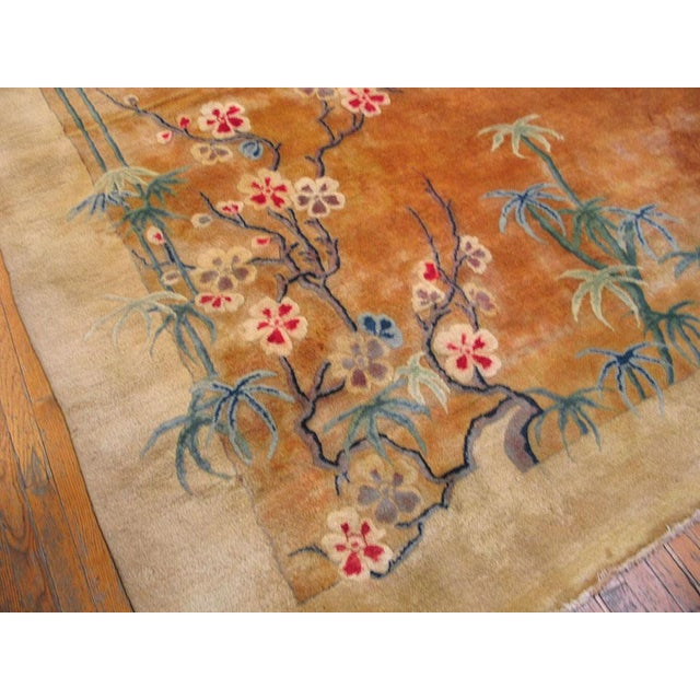 Antique Chinese Art Deco Rug-11′6″ × 16′8″ For Sale In New York - Image 6 of 7