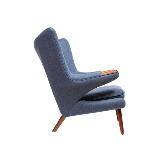 2010s Pair of Pavel Wingback Armchairs For Sale - Image 5 of 5
