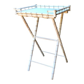 Faux Bamboo Bar Stand For Sale
