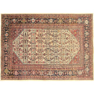 "Nalbandian - 1910s Persian Mahal Carpet - 9'9"" X 13'3"" For Sale"
