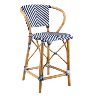 Pearl Counter Stool, Blue For Sale