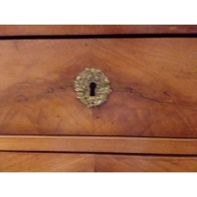 Mid 19th Century Antique Beidermeier Fruitwood Bureau For Sale - Image 5 of 13