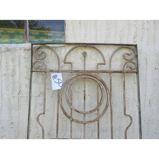 Antique Victorian Iron Gate or Garden Fence - Image 3 of 6
