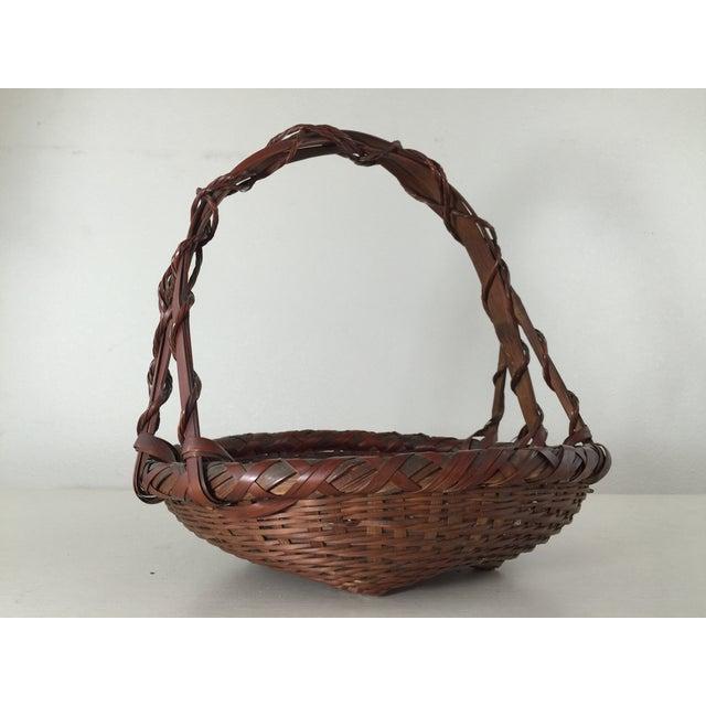 Woven Japanese Ikebana Baskets - A Pair - Image 8 of 11