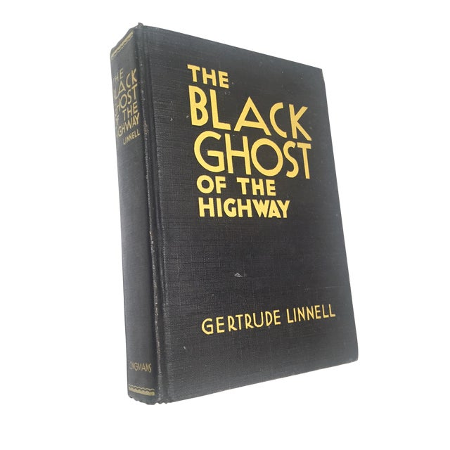 """""""The Black Ghost of the Highway"""" by Gertrude Linnell - Image 1 of 4"""
