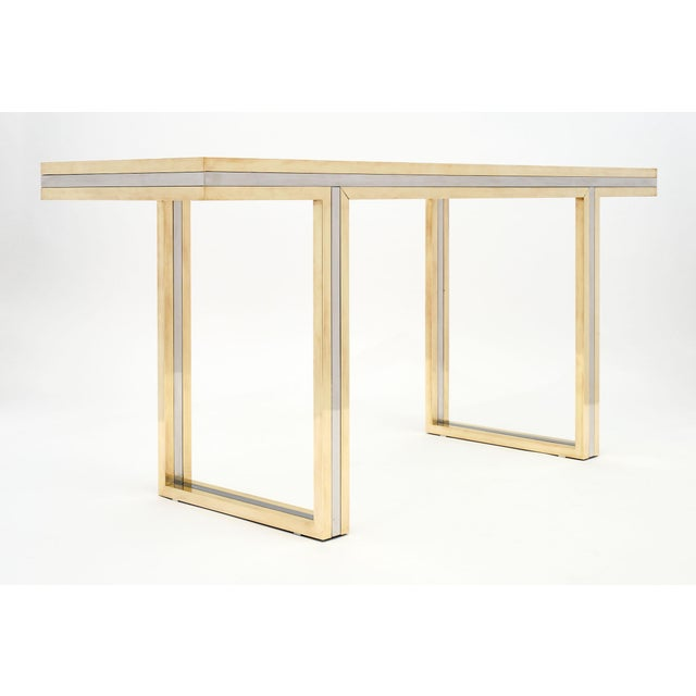 Modern Romeo Rega Signed Console Table For Sale - Image 3 of 10