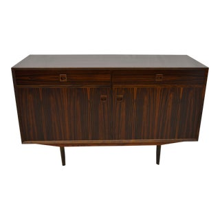 1960s Mid Century Modern Rosewood Credenza For Sale