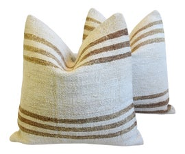 Image of Antique White Throws