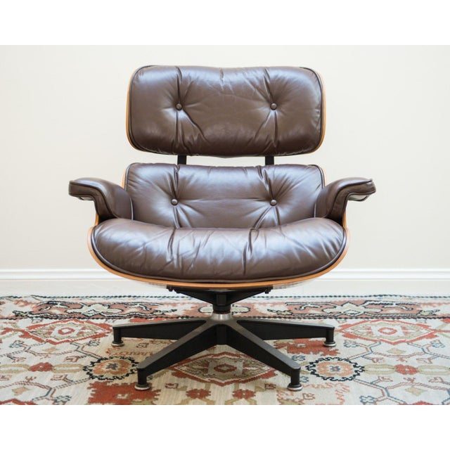 Herman Miller Eames Lounge Chair For Sale - Image 5 of 10