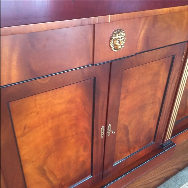 Flame Mahogany Side Cabinet - Image 4 of 10