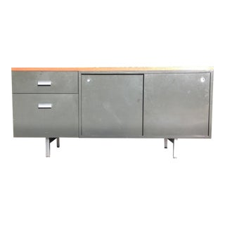 1970's Herman Miller Furniture Co. Credenza Designed by George Nelson For Sale