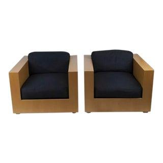 Ralph Lauren Rl2000 Club Chairs - a Pair For Sale