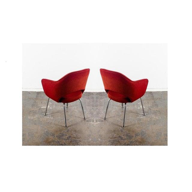 Eero Saarinen Ten Vintage Eero Saarinen Executive Chairs by Knoll For Sale - Image 4 of 5