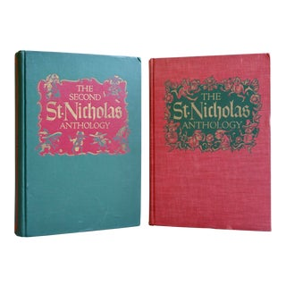 Vintage St. Nicholas Anthologies - A Pair For Sale