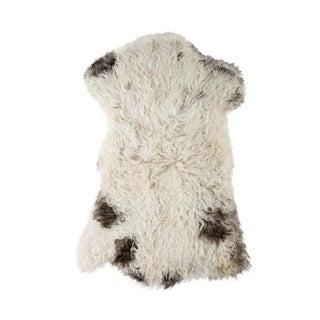 """Contemporary Natural Sheepskin Pelt -2'0""""x3'3"""" For Sale"""