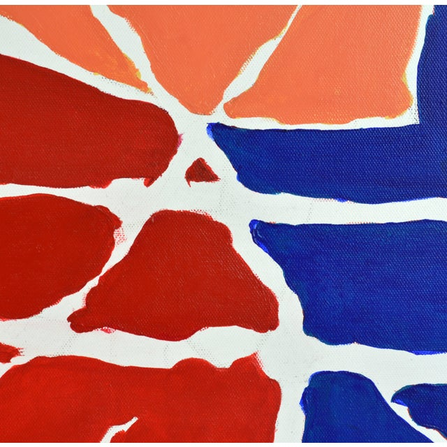 """""""December"""" Contemporary Abstract Painting - Image 4 of 11"""