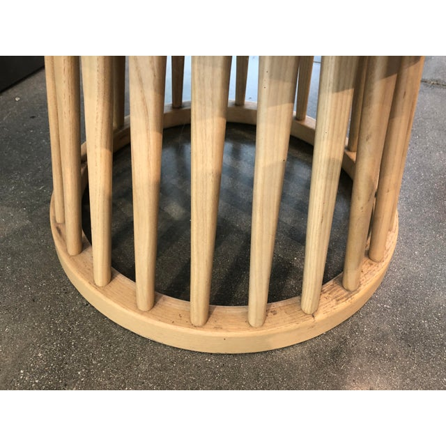 Tom Dixon Fan Chair Natural For Sale - Image 9 of 12