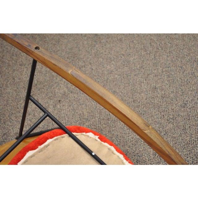 Vintage Mid Century Danish Modern Lb Kofod Larsen Penguin Rocking Chair Rocker - Image 2 of 11