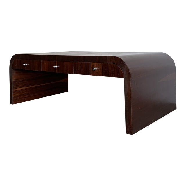 Low Profile Art Deco Coffee Table For Sale