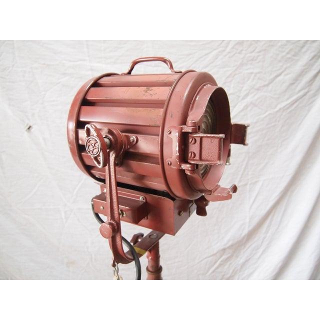 Mole Richardson Vintage Industrial Floor Lamp - Image 4 of 5