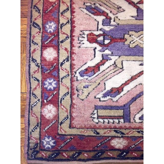 Kras Turkish Antique Rug - 3′8″ × 6′3″ - Image 5 of 5
