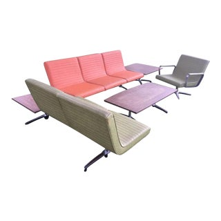 Chromcraft Mid-Century Modern Floating Sectionals - Set of 5 For Sale