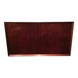 Poul Cadovius Wall Mounted Cabinet for Rosewood Wall Unit