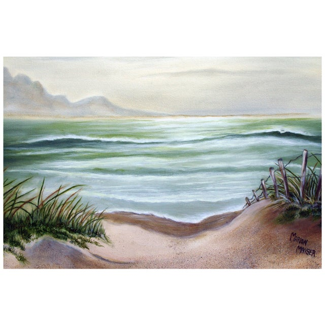 Dune Path to the Sea Painting by Marion Manser - Image 3 of 4