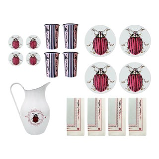 The Ophelia Table Set - 25 Pieces For Sale