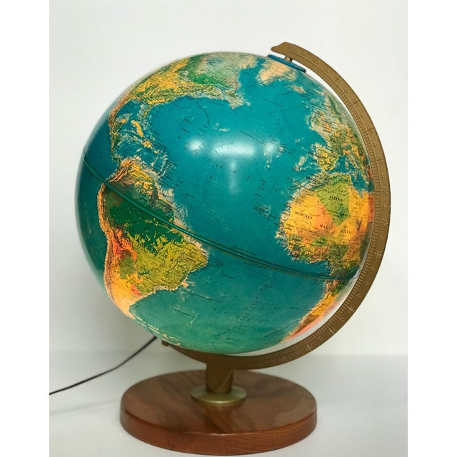 Vintage Late 20th Century Globe Light For Sale - Image 10 of 10